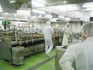 <山田商店の玉子焼工場>